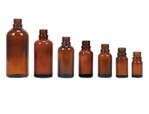Braunglasflaschen 5ml ohne Deckel