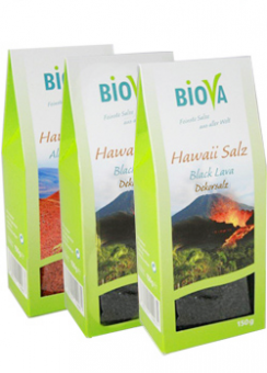 Hawaii Salz Black Lava 150g