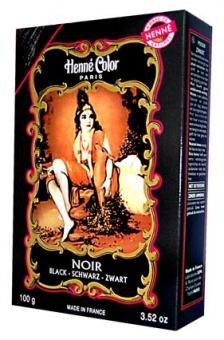 Henna Färbepulver schwarz 100g