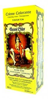 Henna Tönungscreme goldblond 90ml
