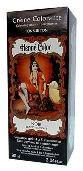 Henna Tönungscreme schwarz 90ml