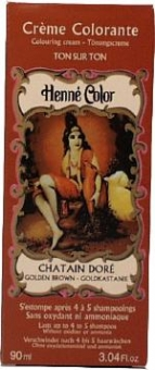 Henna Tönungscreme Goldkastanie 90ml