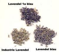 Lavendelblüten blau ganz 100g