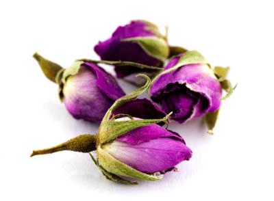 Rosenblüten Knospen pink 100g ganz