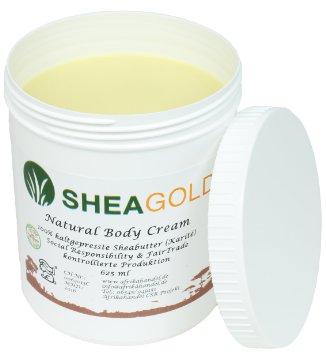 Sheabutter kaltgepresst Sheagold 625ml