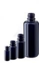Violettglasflasche ohne Deckel 50ml